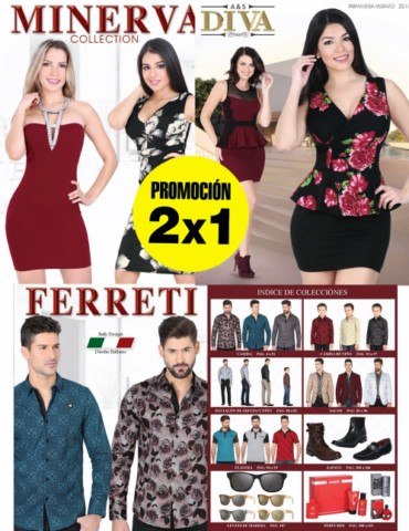 Ferreti ® Minerva ® Diva ® [2x1] | 1(800) 825-9452 18